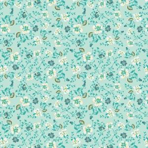 mint green fabric print