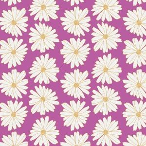 daisy fabric print