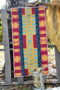 Adventure In All Directions Table Runner by AGF Studio