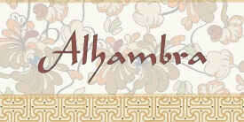 Alhambra Fabric Collection by Pat Bravo