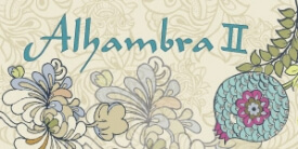 Alhambra II Fabric Collection by Pat Bravo
