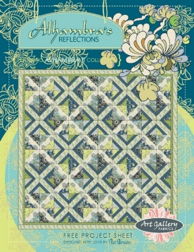 Alhambra's Reflections Quilt by Pat Bravo