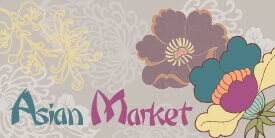 Asian Market Fabric Collection by Pat Bravo
