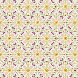 seamless floral pattern, cotton fabric