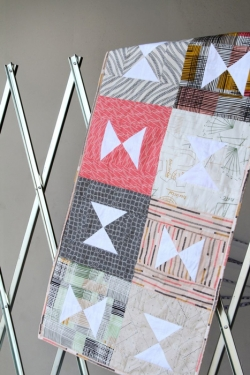 Backstitched Table Runner by AGF Studio
