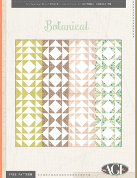 Botanical Quilt by AGF Studio