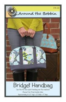 Bridget Handbag By Around the Bobbin