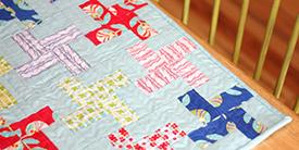 Color Me Retro Mini Quilt