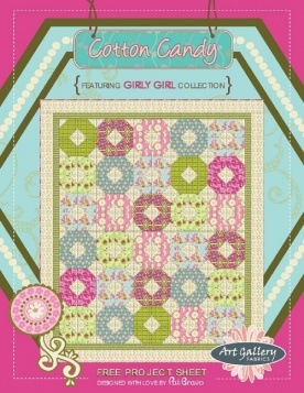Cotton Candy Quilt by Pat Bravo