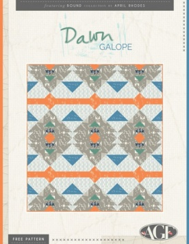 Dawn Galope Quilt by Pat Bravo