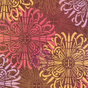 brown cotton fabric