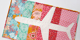 Fly With Me Mini Quilt