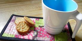 Matchsticks Mug Rug