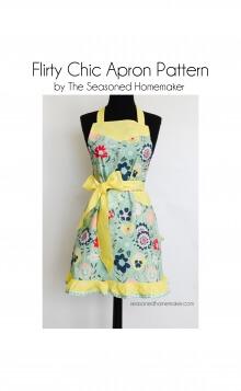Flirty Chic Apron By Seasoned Homemaker
