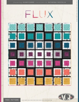 FLUX Quilt by Katarina Roccella