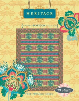 Heritage Quilt by Pat Bravo