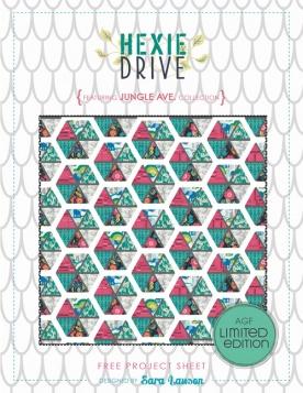 Hexie Drive Quilt by Sara Lawson