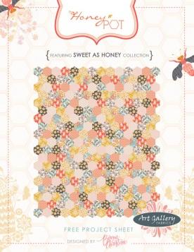 Honey Pot Quilt by Bonnie Christine