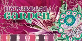 Hyperreal Garden Fabric Collection by Pat Bravo