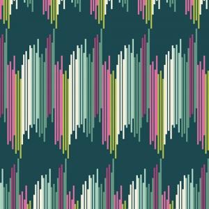 striped green fabric, quilting cotton, joie de vivre