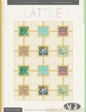 Lattice Quilt by AGF Studio