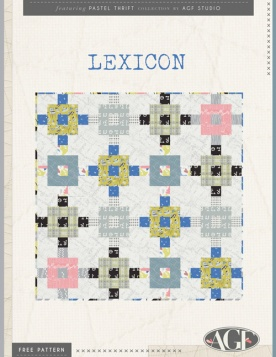 Lexicon Quilt by AGF Studio