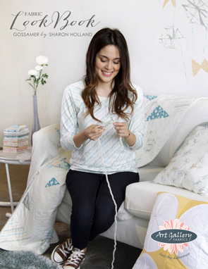 Gossamer Fabric lookbook by Sharon Holland