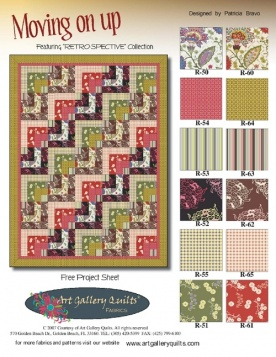 Moving On Up Quilt by Pat Bravo