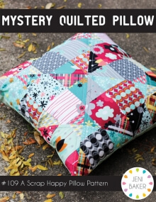 Mystery Quilted Pillow By Jeni Baker