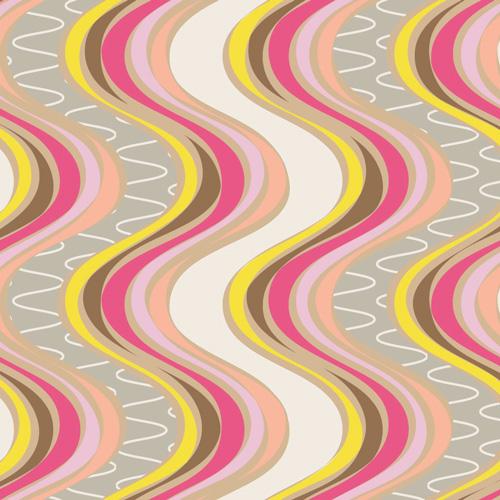 AGF Naturella Pink Lamina Fabric Glow Palette  Art Gallery NA 5804 by the Half Yard