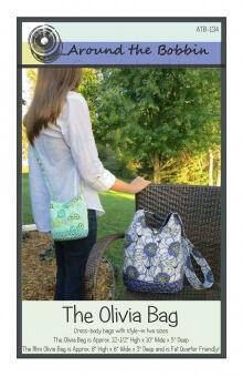 The Olivia Bag By Around the Bobbin