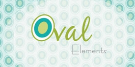 Oval Elements Fabric Collection