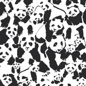 panda fabric, panda cotton