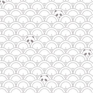 panda white fabric, panda fabric, quilting cotton