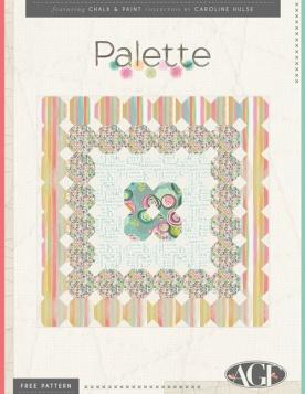 Palette Quilt by Sew Caroline