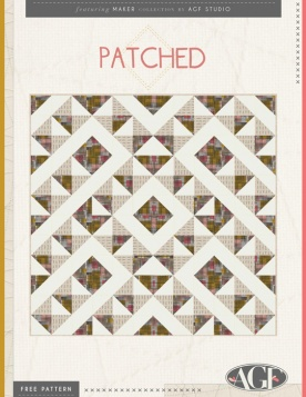 Patched Quilt by AGF Studio