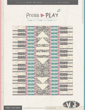 Press Play Quilt by AGF Studio by AGF Studio