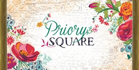Priory Square Fabric Collection by Katy Jones
