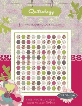 Quiltology Quilt by Pat Bravo
