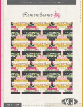 Remembrance Quilt by Bari J.
