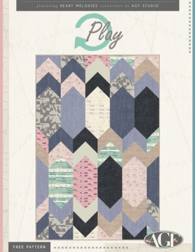 RePlay Quilt by AGF Studio