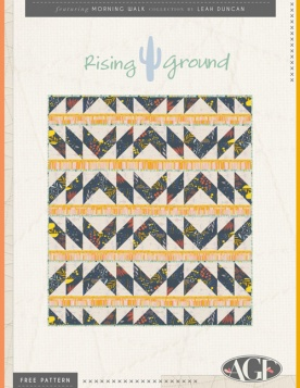 Rising Ground Quilt by AGF Studio