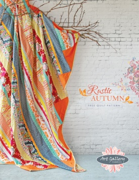 Rustic Autumn Quilt by AGF Studio