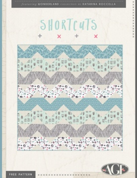 Shortcuts Quilt by AGF Studio