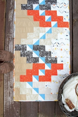 Step Lively Table Runner by AGF Studio