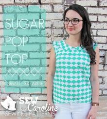 Sugar Pop Top By Sew Caroline