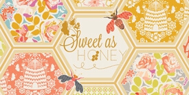 Sweet as Honey Fabric Collection