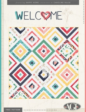 Welcome Quilt by AGF Studio