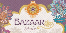 Bazaar Style Fabric Collection by Pat Bravo