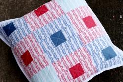 Be Squared Pillow by Jeni Baker